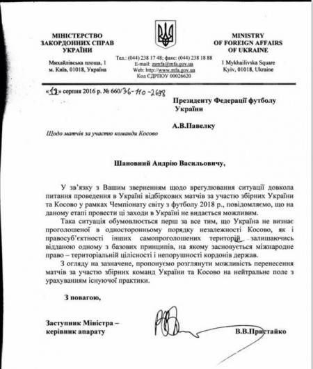 Стало відомо, де збірна України зіграє з сепаратистами (+ФОТО)