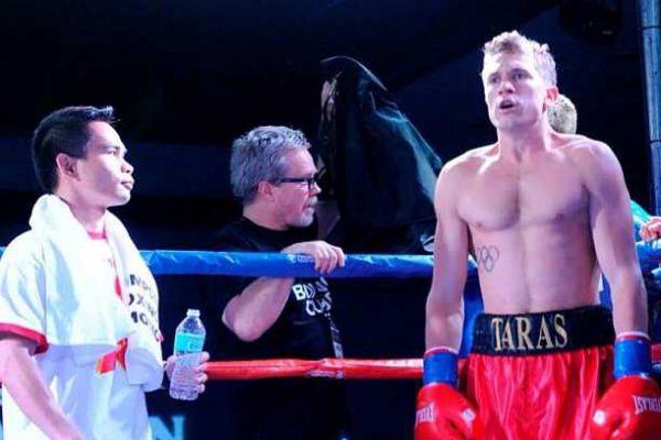 Український боксер переміг росіянина і здобув два чемпіонських титули