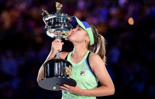 Australian Open. Фінал. Софія Кенін - Гарбіньє Мугуруса - 4:6, 6:2, 6:2 (ВІДЕО)