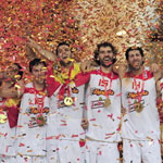 ЄВРОБАСКЕТ -2009. Іспанія - чемпіон! (ФОТО)