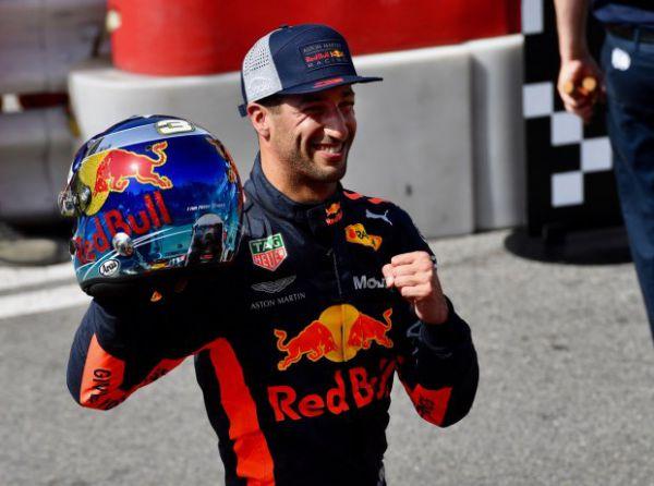 Формула-1. Риккардо выиграл гонку в Монако, Феттель выше Хэмилтона