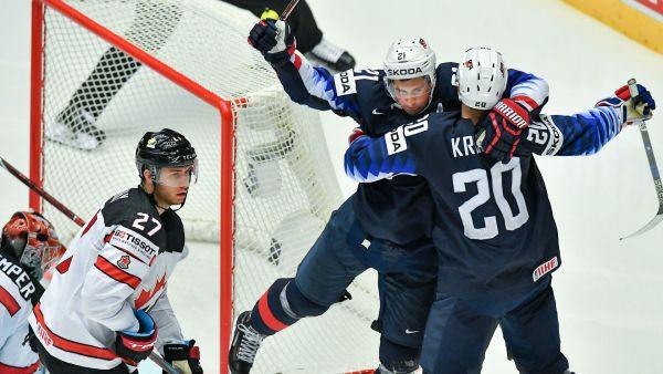 ЧМ-2018 по хоккею. Канада проиграла США, успех Швеции и России