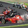 Аварія Алонсо на Гран Прі Японії (ФОТО)