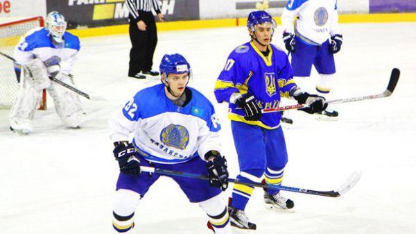 Хоккей. Украина проиграла Казахстану и во втором матче