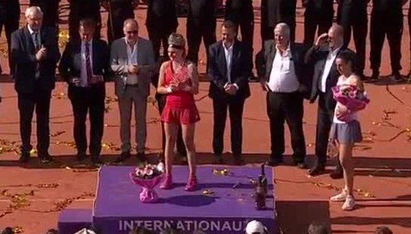 WTA Страсбург. Даяна Ястремська - Каролін Гарсія - 2:1 (ВІДЕО)