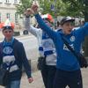 Яскраві кадри вболівальників перед фіналом ЛЄ (ФОТО)