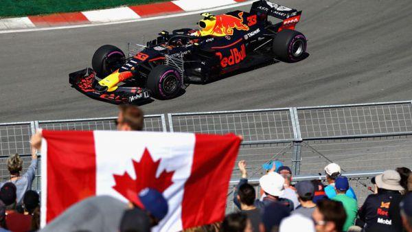 Формула-1. Ферстаппен разбил всех на практиках в Канаде