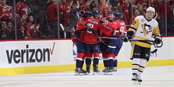 """НХЛ. """"Вашингтон"""" уничтожил """"Питтсбург"""", победа """"Калгари"""""""
