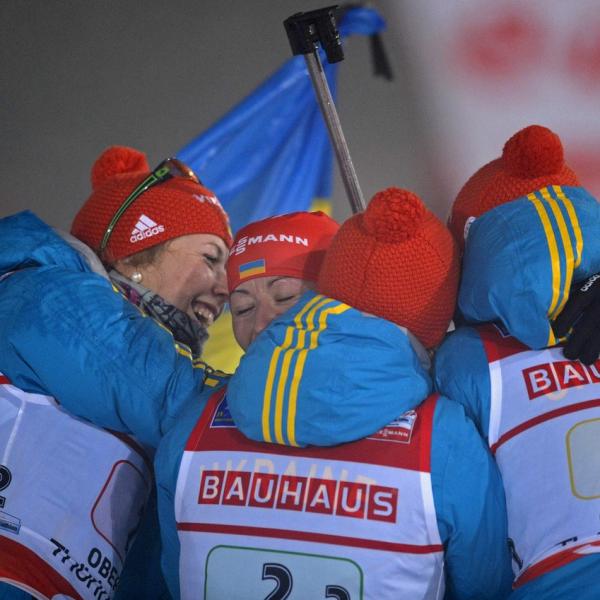 Біатлон. Золота естафета збірної України (ВІДЕО)