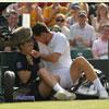 Уімблдон. Тенісист влетів у дівчинку і не зміг продовжити матч (ФОТО)