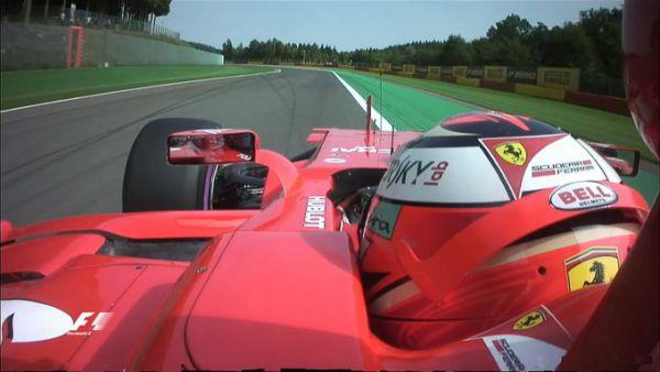 Формула-1. Райкконен и Хэмилтон доминируют на практиках Бельгии
