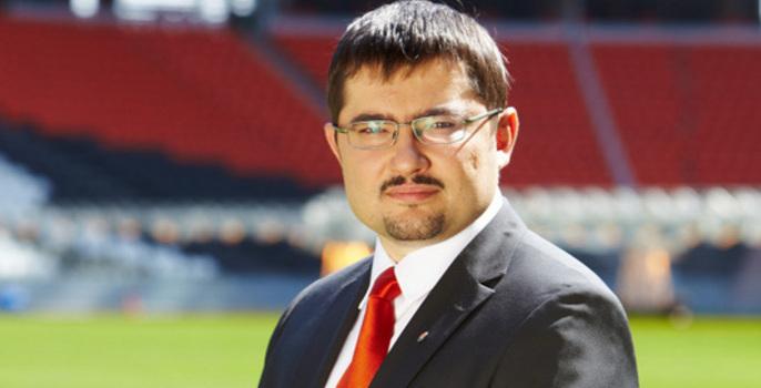 Генеральный директор стадиона «Спартака» «Открытие Арена» Александр Атаманенко