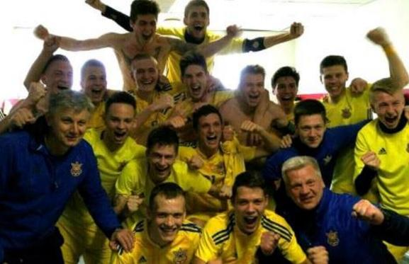 Божевільна радість збірної України U-17 після виходу на Євро (ВІДЕО)