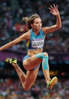 Ольга Саладуха стала второй на этапе Бриллиантовой лиги в Дохе