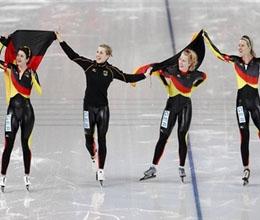 Збірна Німеччини бере золото в ковзанярському спорті