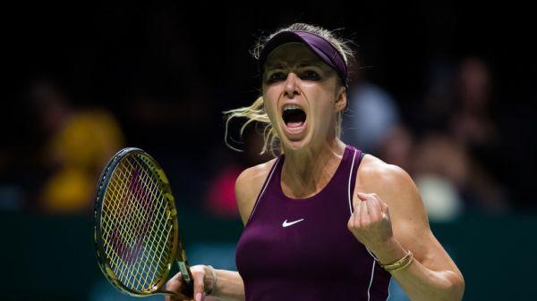 Підсумковий турнір WTA. Фінал.  Еліна Світоліна - Слоан Стівенс - 2:1 (ВІДЕО)