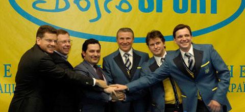 НОК презентував нову форму збірної на Олімпійські ігри у Ванкувері (ФОТО) (52.09 Kb)