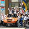 У Вишиванках. Так фінішували українці на Дакар (ФОТО)