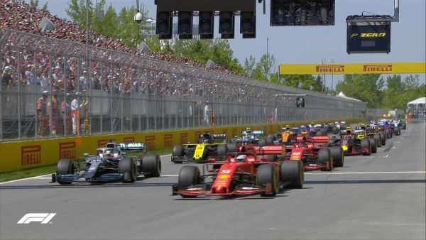 Формула 1. Яскраві кадри скандальної гонки в Канаді (ФОТО)
