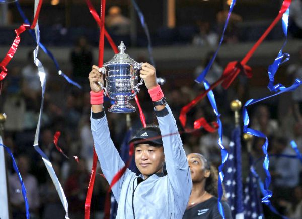 US Open. Радість Осаки і сльози Вільямс в фіналі (ФОТО)