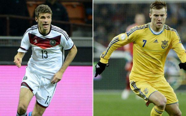 Євро-2016. Німеччина - Україна - 2:0. ОНЛАЙН