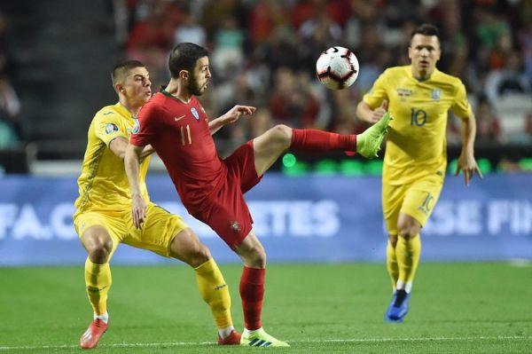 Як збірна України билась з чемпіонами Європи (ФОТО)