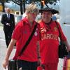 Збірна Іспанії прибула в Македонію (ФОТО)
