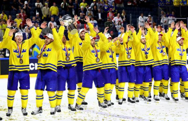 ЧМ-2018 по хоккею. Швеция победила швейцарцев в финале