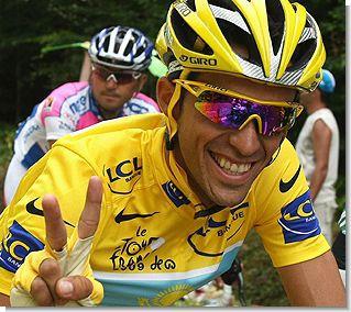 Іспанець Альберто Контадор виграв «Тур де Франс». ФОТО