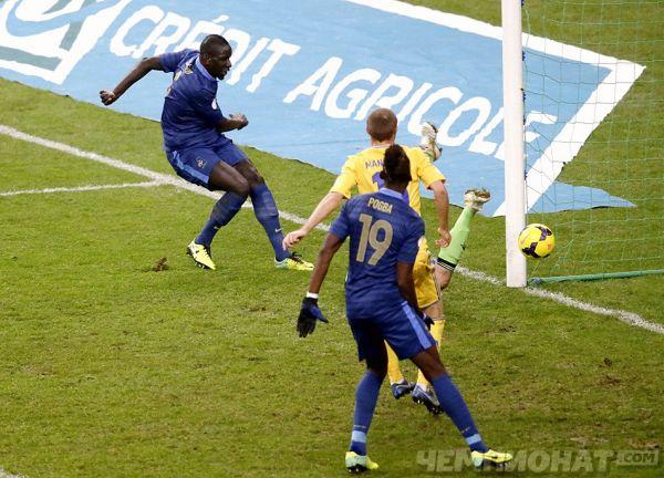 Франція - Україна 3:0 (ФОТО)