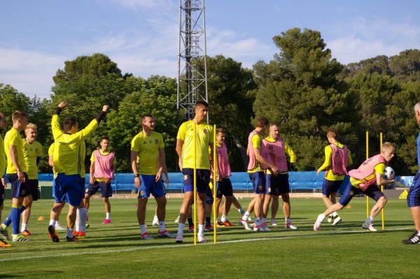 Тренування збірної України у Франції (ФОТО)