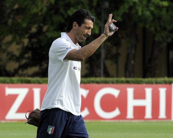 Збірна Італії на тренуванні (ФОТО)