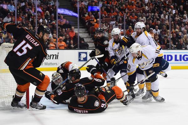 """НХЛ. """"Нешвілл"""" вирвав перемогу в """"Анахайма"""" у овертаймі"""