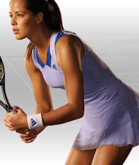 Компанія Adidas представила сукні, в яких Іванович буде виcтупать на «Уїмблдоні» і US Open. ФОТО