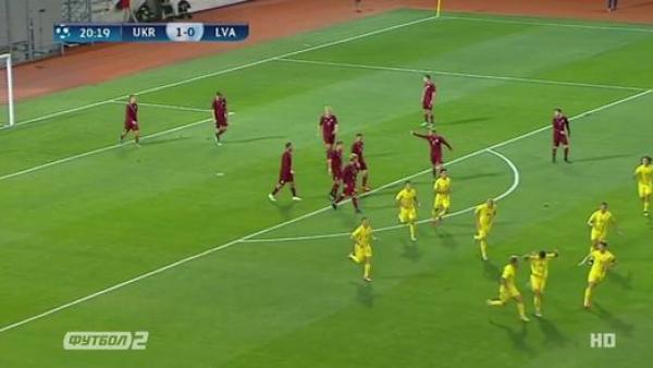 Відбір Євро-2019 (U-21). Україна - Латвія - 3:2 (ВІДЕО)
