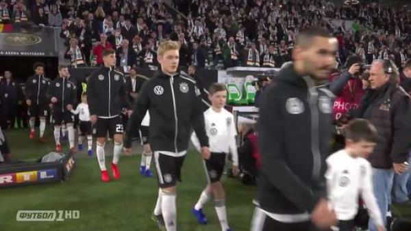 Товариський матч. Німеччина - Сербія - 1:1 (ВІДЕО)