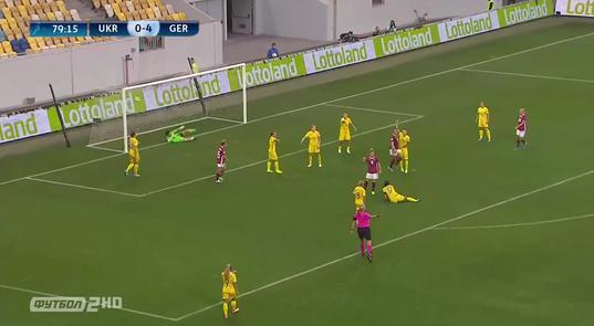 Відбір Євро-2021. Жінки. Україна - Німеччина - 0:8 (ВІДЕО)